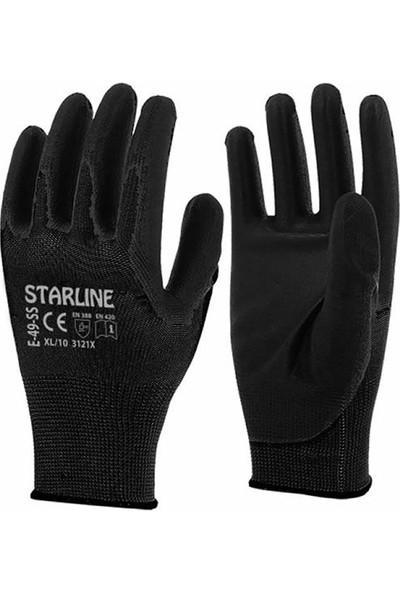 Şensel Starline Iş Eldiveni E-49, Siyah
