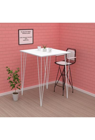 Kenz Life Knsz Bar Yemek Masası Zel Byzbyz 105 x 060 x 060 Mutfak