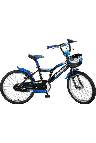 Ümit Z-Trend 20 2002 Çocuk Bisikleti-Siyah-Turkuaz - 100131