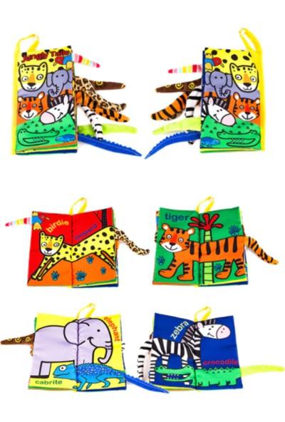 No Tasarım Jungly Tails Bez Bebek Kitabı / Hışırtılı Kitap