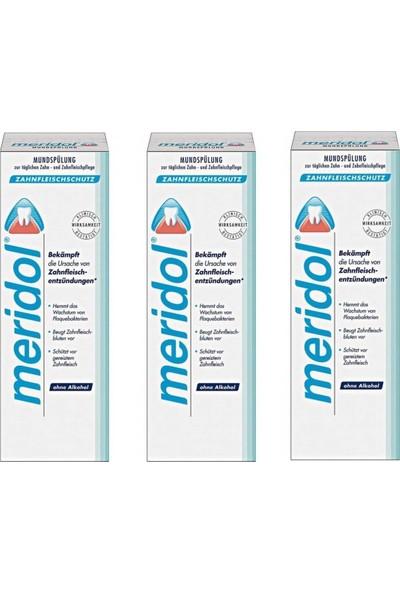 Meridol Ağız Bakım Suyu 400 ml 3 Kutu
