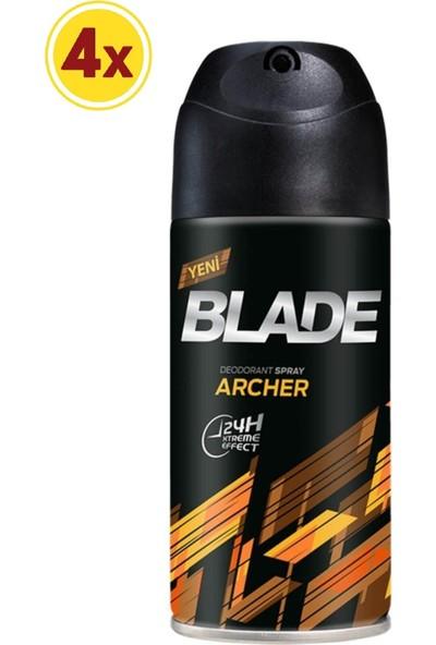 Blade Deo 150 ml Archer 4 Lü Set