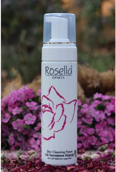 Rosella Gül Özlü Yüz Temizleme Köpüğü 200 ml x 3