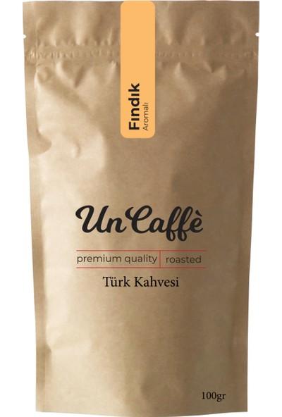 Un Caffe Fındık Aromalı Türk Kahvesi 100 gr