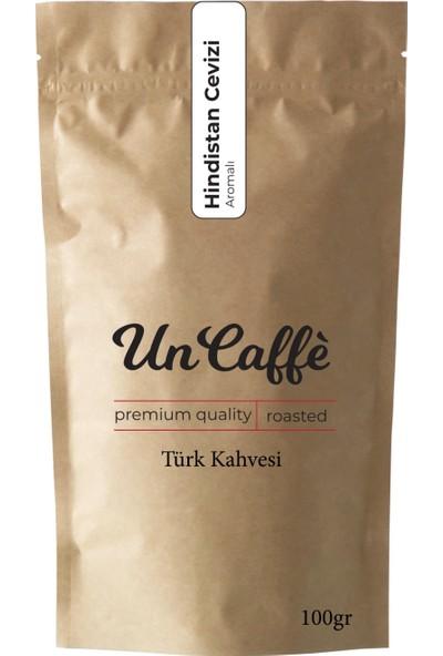 Un Caffe Hindistan Cevizi Aromalı Türk Kahvesi 100 gr