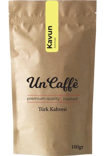 Un Caffe Kavun Aromalı Türk Kahvesi 100 gr