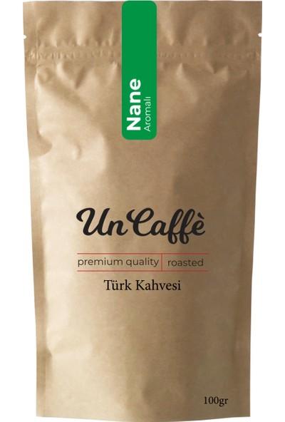 Un Caffe Nane Aromalı Türk Kahvesi 100 gr