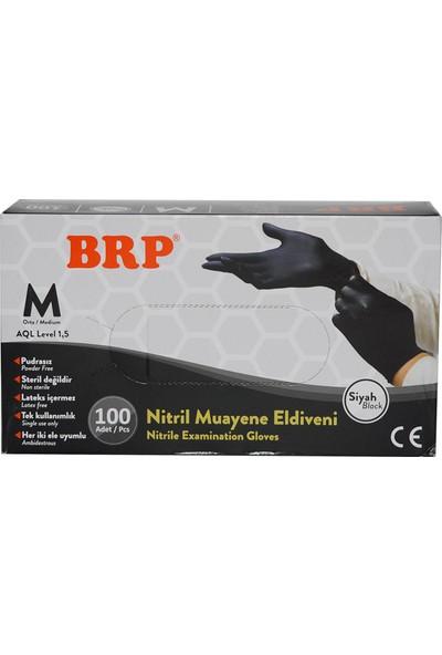 Brp Nitril Siyah Medium Eldiven
