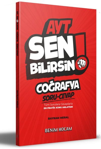Benim Hocam Yayınları 2021 AYT Coğrafya Sen Bilirsin Soru-Cevap Kitabı - Bayram Meral