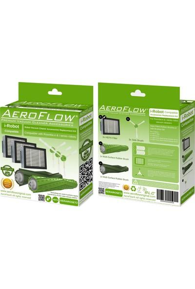 Aeroflow İ-Robot İ6 Plus Robot Süpürge Aksesuar Seti