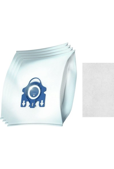 Aeroflow Miele Complete C2 Powerline Karbonlu Hepa Filtre + 4 Adet Gn Toz Torbası