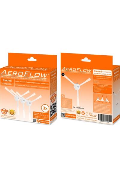 Aeroflow Xiaomi S6 Yan Fırça 3'Lü Paket
