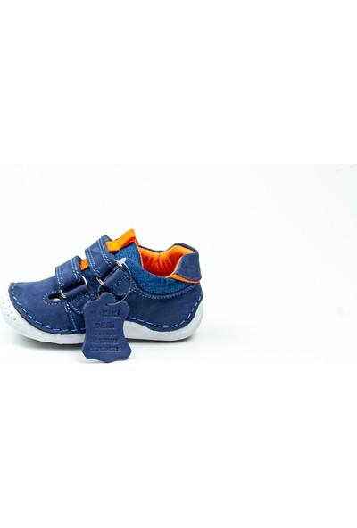 Polaris 515170 Lacivert Deri Ilk Adım Ayakkabısı