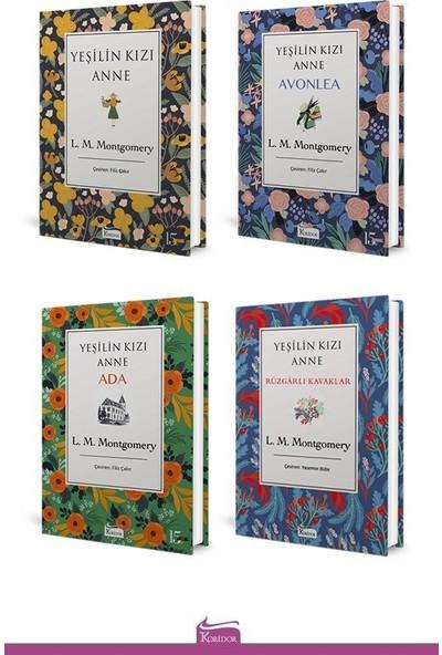 Yeşilin Kızı Anne Seti (Ciltli) – 4 Kitap - L.M. Montgomery