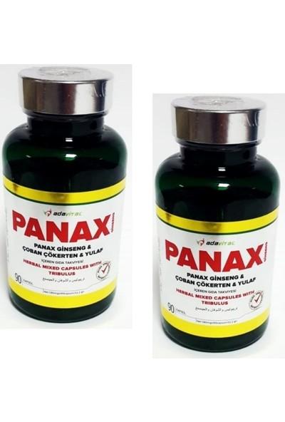 Adavital Panax Ginseng Çoban Çökerten Gıda Takviyesi 90 Kapsül x 2 Adet