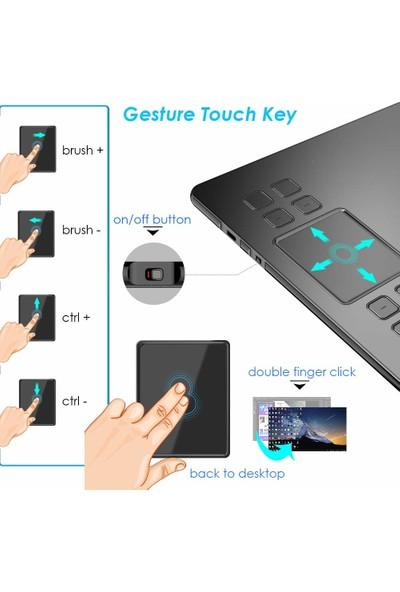"""Ugee M708 10 x 6"""" Grafik Tablet (Yurt Dışından)"""