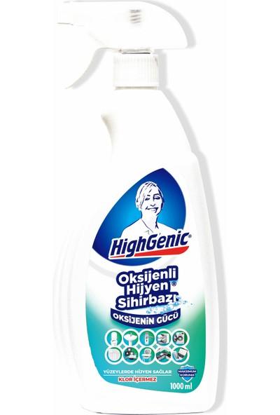 Highgenic Hijyen Sihirbası (Klorsuz Oksijenli Hijyen) 1000 ml