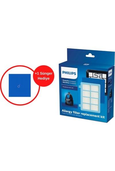 Blc Philips FC9328 Powerpro City Uyumlu Filtre Seti + 1 Adet Sünger