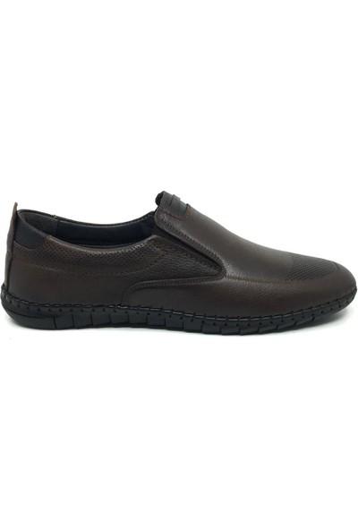 Öz Soylu Deri Yazlık Rahat Erkek Günlük Çarık Ayakkabı 40-47