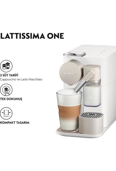 Nespresso F111 Lattissima One Beyaz Kahve Makinesi