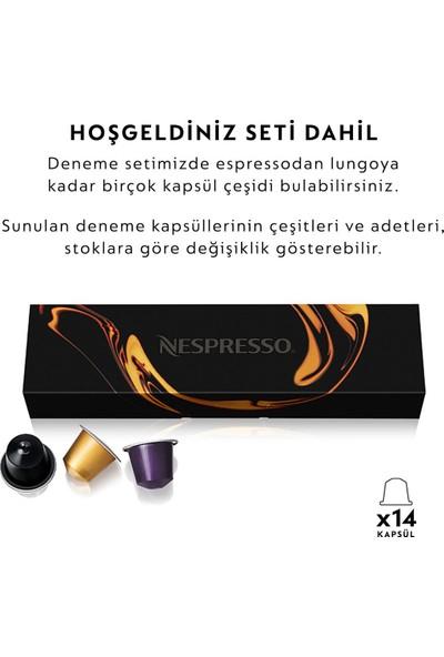 Nespresso Essenza Mini C 35 Black Bundle Kahve Makinesi