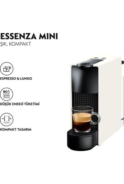 Nespresso Essenza Mini C 30 White Kahve Makinesi