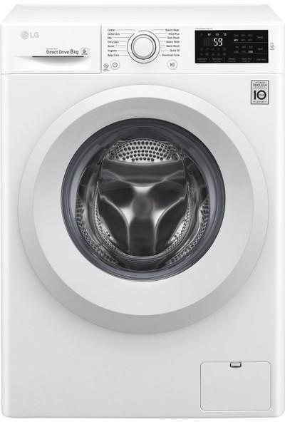 LG F4J5VNP3W 9 kg 1400 Devir Çamaşır Makinesi