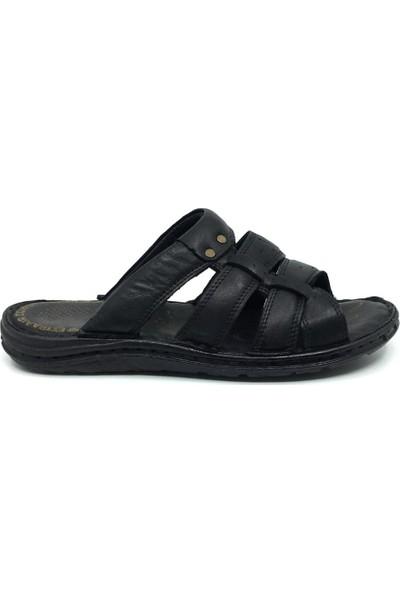 Rota Deri Günlük Rahat Erkek Terlik-Sandalet 40-45