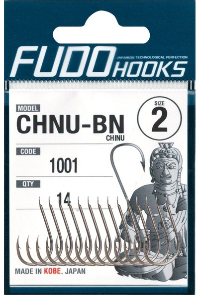 Fudo 1001 Chinu 3/0 Black Nickel Iğne 6'lı Paket