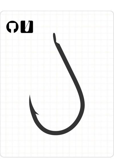 Fudo 1001 Chinu 3/0 Black Nickel Iğne 6'lı Paket
