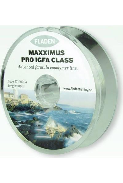 Fladen Maxximus Igfa Pro 0,35MM. 100M. Şeffaf Makara Misina