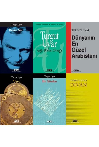 Turgut Uyar 6 Kitap Set (Büyük Saat, Göğe Bakma Durağı, Dünyanın En Güzel Arabistanı, Veys, Bir Şiirden, Divan)