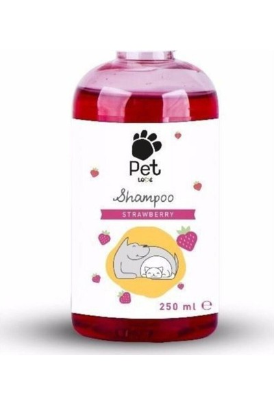 Pet Love Eco Şampuan 250ML Çilek