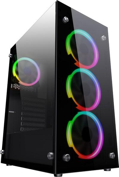 Turbox Tx470 Intel Core i7 2600 8GB Ram 120GB SSD 500GB HDD 2GB GT1030 Freedos Oyun Bilgisayarı