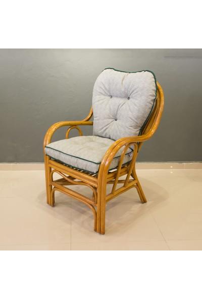 Adalı Bambu Rattan Venedik Sandalye Balköpüğü