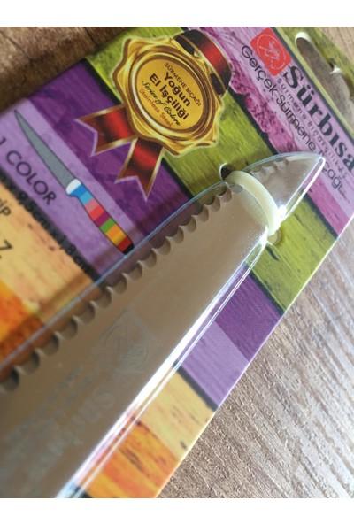Sürbısa Gerçek Sürmene Tırtıklı Dilimleme Bıçağı 20 cm