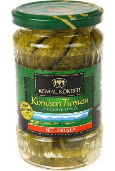 Kemal Kükrer 340 gr Salatalık Turşusu