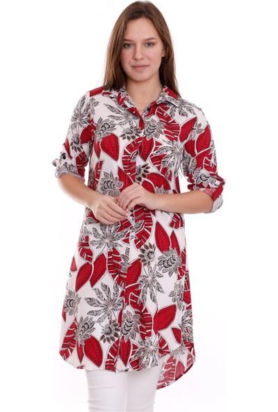 Egs Bayan Yeni Model Uzun Gömlek 666547644