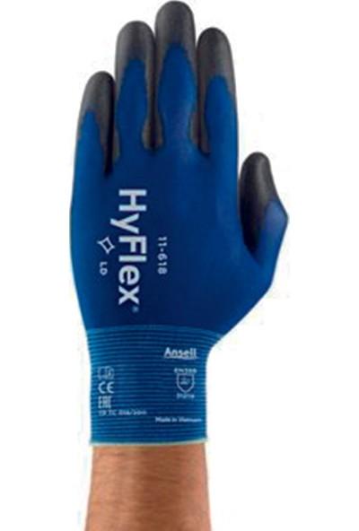 Ansell Hyflex 11-618 Dokunma Hassasiyetli Mekanik Koruma Iş Eldiveni 11 No