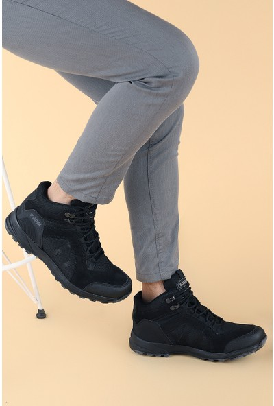 Scooter M1255 Discovery Deri Su Geçirmez Erkek Bot Ayakkabı