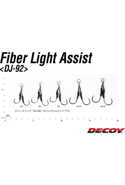 Decoy Dj-92 Fiber Light Assist Jig Asist Iğnesi
