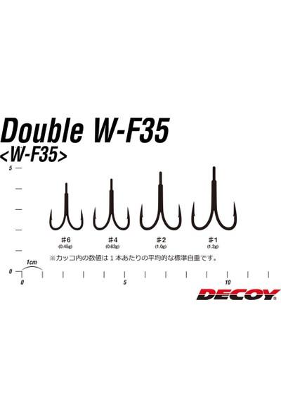 Decoy W-F35 Double Hook Ikili Maket Balık Iğnesi