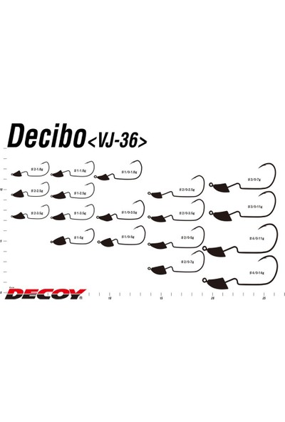 Decoy Vj-36 Violence Decibo Jig Head