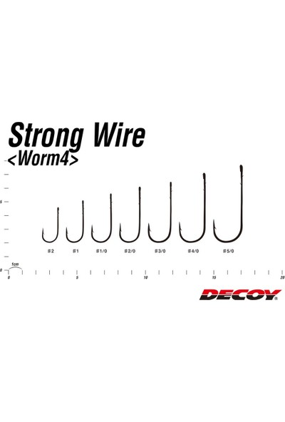 Decoy Worm4 Strong Wire Uzun Pala Iğne