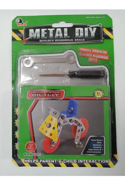 CC Oyuncak Mekanik Becerileri Metal Diy Bıcycle 47 Parça - x 608-5