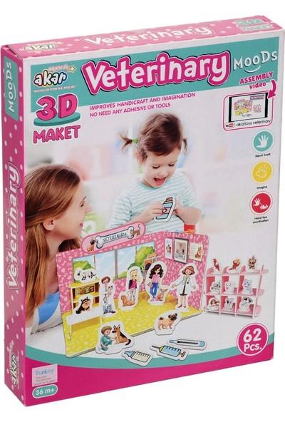 Birlik Toys 93-123 Veteriner 3D Maket
