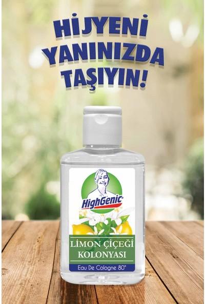 Highgenic Kolonya 80° Lemon Blossom 70 ml