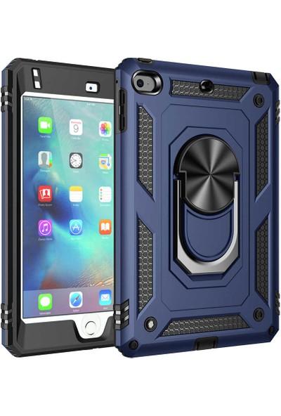 Vendas Apple iPad Mini 4 Hulk Serisi Tam Korumalı Tablet Silikon Kılıfı Lacivert