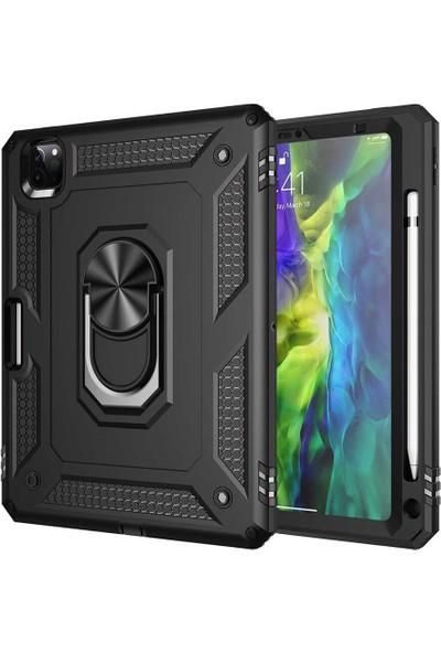 Vendas Apple iPad Pro 11 2020 Hulk Serisi Tam Korumalı Tablet Silikon Kılıf Siyah