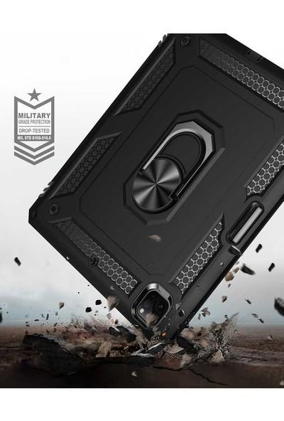 Vendas Apple iPad Pro 12.9 2020 Hulk Serisi Tam Korumalı Tablet Silikon Kılıf Siyah